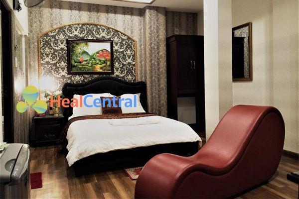 Khách sạn có ghế tình yêu
