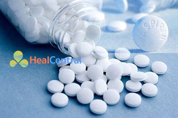 Các thuốc chống kết tập tiểu cầu làm tăng nguy cơ chảy máu và làm xuất huyết tiêu hóa nặng hơn
