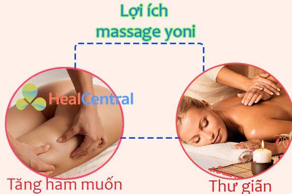Lợi ích rõ rệt mà Massage Yoni mang lại cho chị em phụ nữ