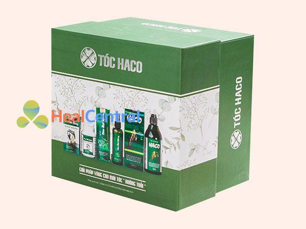 Hộp sản phẩm Mọc Tóc Haco