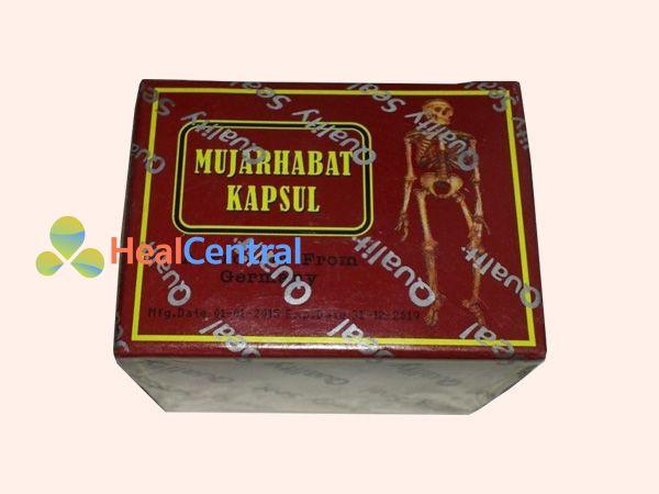 Hình ảnh hộp thuốc Mujarhabat kapsul
