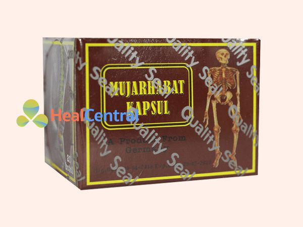 Mujarhabat kapsul có nguồn gốc thảo dược