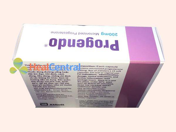 Thuốc Progendo 200mg - bổ sung nội tiết tố khi mang thai