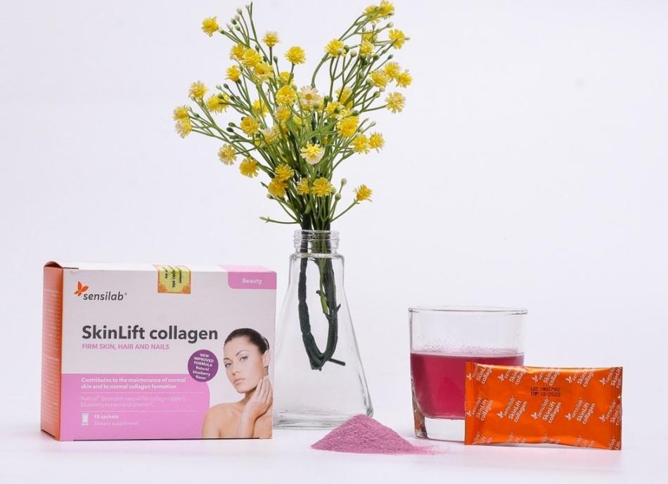 Skinlift Collagen – collagen chống lão hóa da của Châu Âu