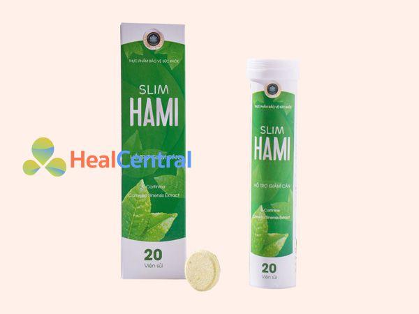 Viên sủi Slim Hami - hỗ trợ giảm cân