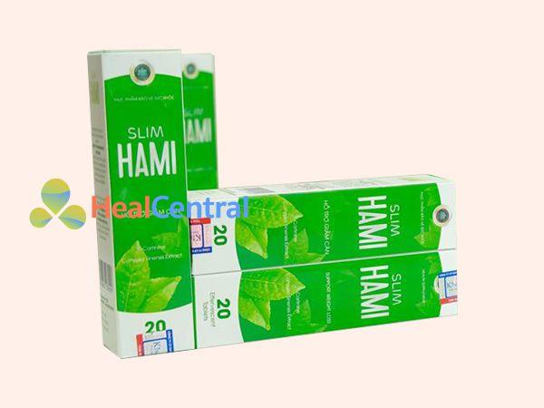 Mỗi hộp Slim Hami có 20 viên sủi