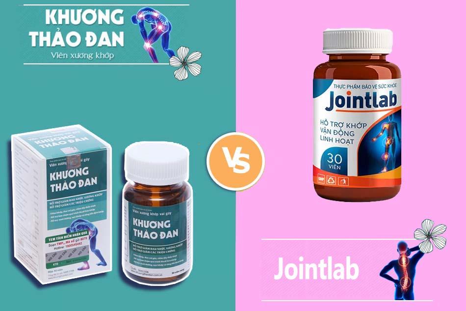 So sánh tác dụng của Khương Thảo Đan và Jointlab
