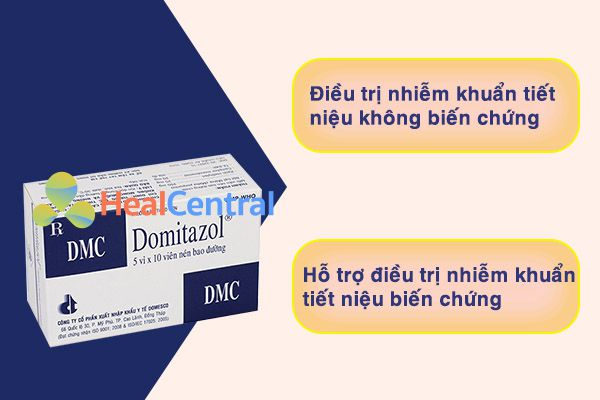 Sử dụng thuốc Domitazol trong trường hợp nào?