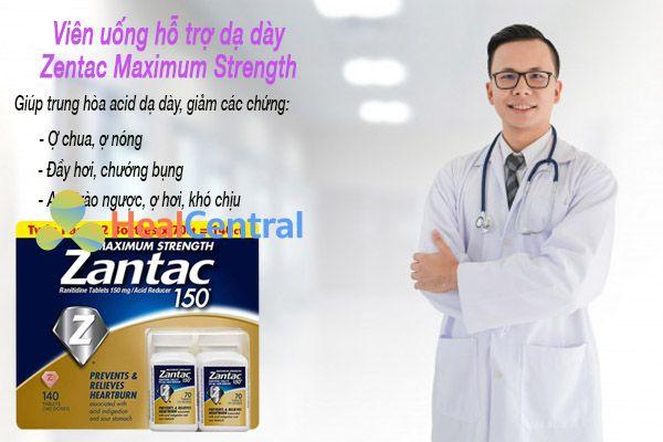 Tác dụng của thuốc Zantac