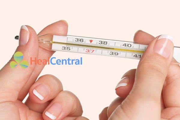 Thông thường sốt trên 39 độ mới nên dùng Efferalgan