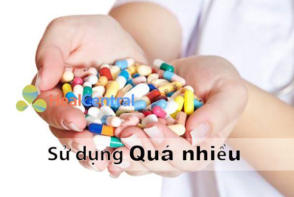 Không nên sử dụng quá nhiều thuốc bổ máu trong một thời gian ngắn