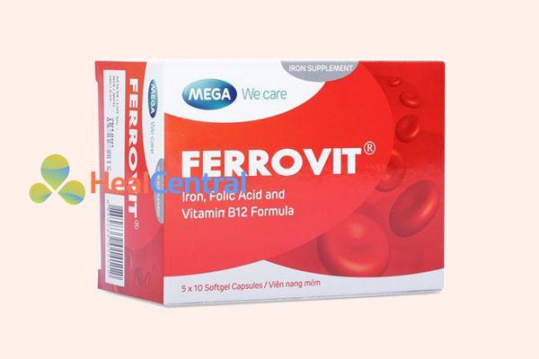 Thuốc bổ máu Ferrovit - sự lựa chọn hoàn hảo cho bệnh nhân mất máu sau phẫu thuật