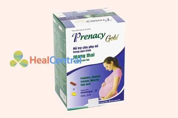 Thuốc bổ máu Prenacy Gold - cung cấp dinh dưỡng cho mẹ, đảm bảo thai nhi phát triển tốt