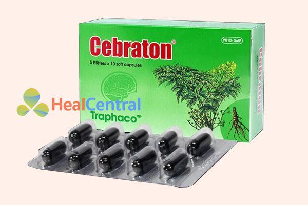 Cebraton – điều trị suy giảm trí nhớ và thiếu máu não