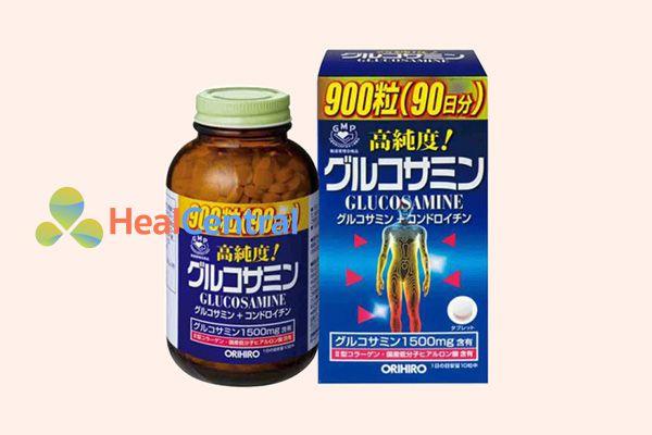 Thuốc bổ xương khớp Glucosamine Orihiro Nhật 1500mg