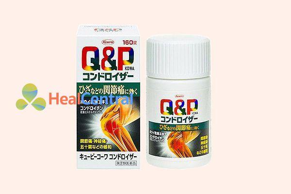 Thuốc bổ xương khớp QP Kowa giúp cho xương khớp luôn chắc khỏe