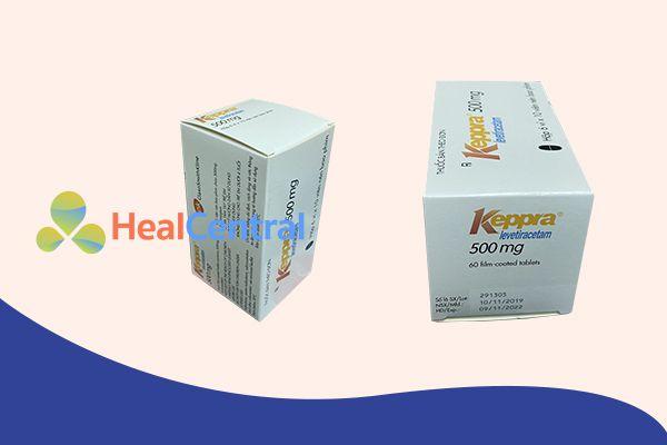 Thuốc chống động kinh Keppra