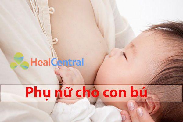 Mẹ cho con bú bị tiêu chảy nên uống thuốc gì?