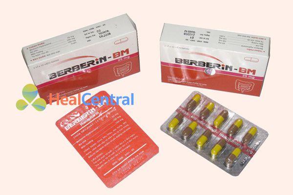 Thuốc trị tiêu chảy Berberin