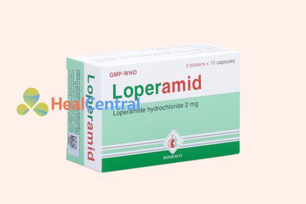Thuốc trị tiêu chảy Loperamid