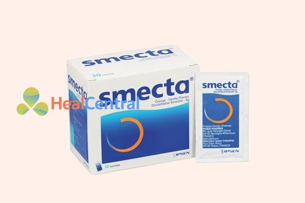 Thuốc tiêu chảy cho trẻ em Smecta