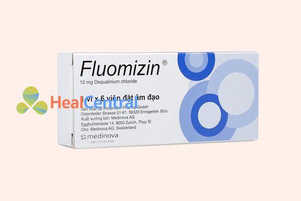 Thuốc đặt âm đạo trị nấm Fluomizin