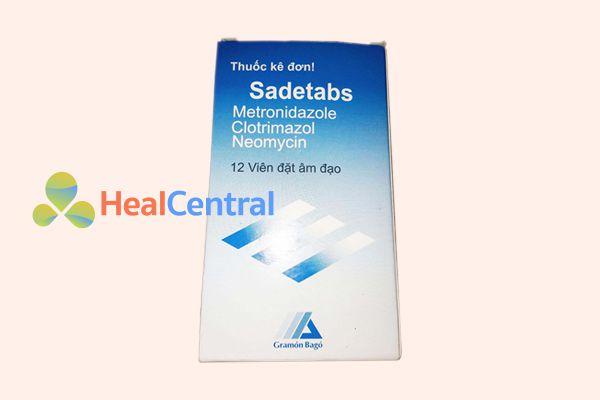 Sadetab – Thuốc đặt phụ khoa hiệu quả cao