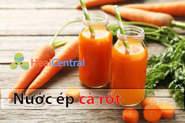 Sử dụng cà rốt trong điều trị nhiễm ký sinh trùng