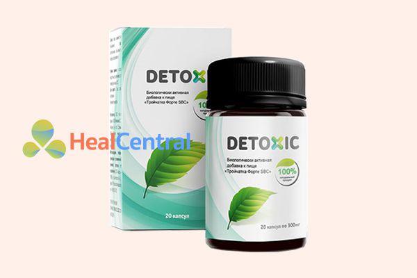 Thuốc diệt ký sinh trùng Detoxic giúp tiêu diệt tất cả các thể của ký sinh trùng
