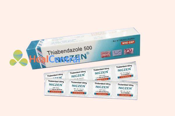 Thuốc tiêu diệt ký sinh trùng Niczen