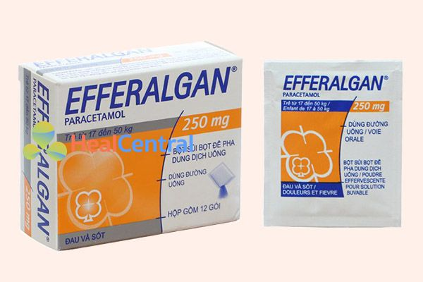Thuốc Efferalgan 250mg dạng bột