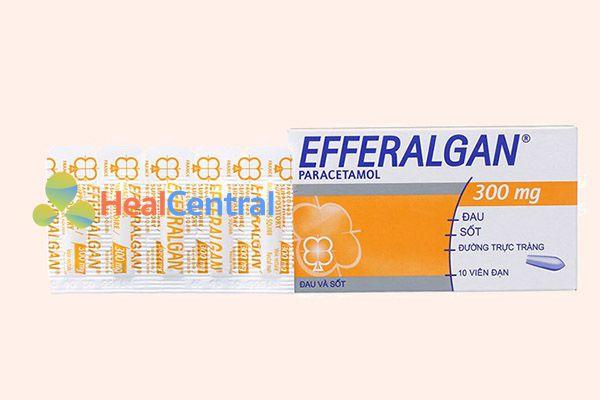 Thuốc Efferalgan 300mg dạng viên đặt