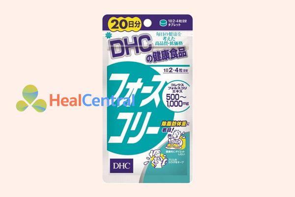 Viên uống hỗ trợ giảm cân DHC 20 ngày.