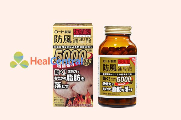 Thuốc giảm mỡ bụng Rohto Nhật Bản.