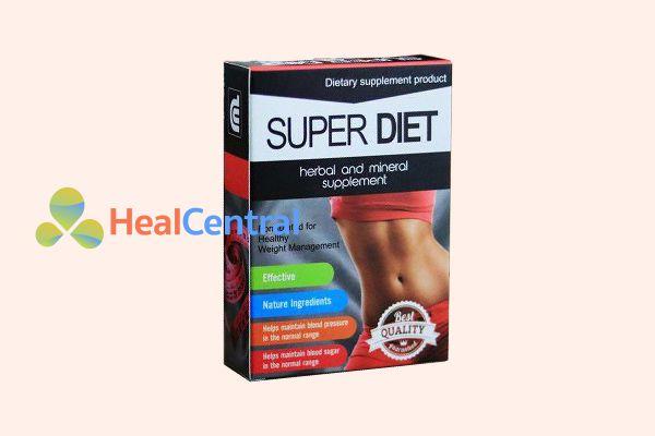 Thuốc giảm cân Super Diet.