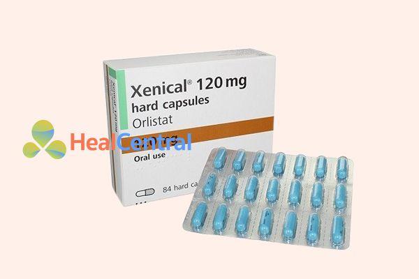 Thuốc giảm cân Xenical của Thụy Sĩ.