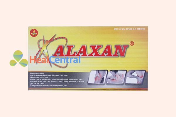 Thuốc hạ sốt Alaxan