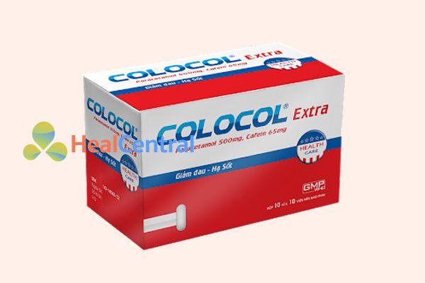 Thuốc hạ sốt Colocol