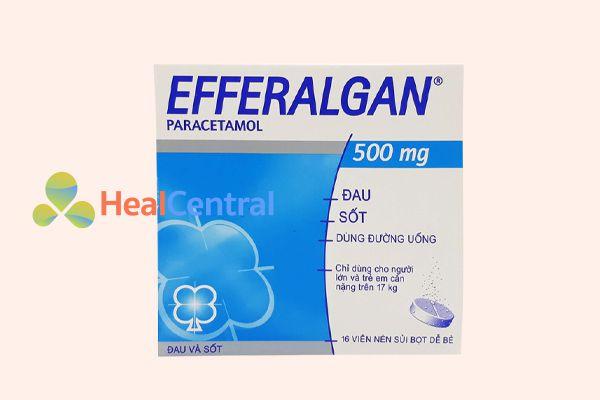 Thuốc hạ sốt cho người lớn Efferalgan 500mg