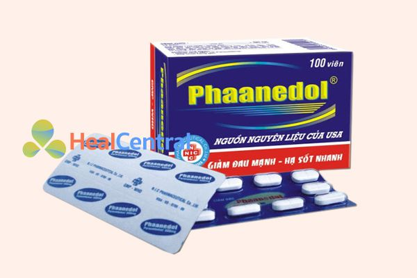 Thuốc hạ sốt Phaanedol