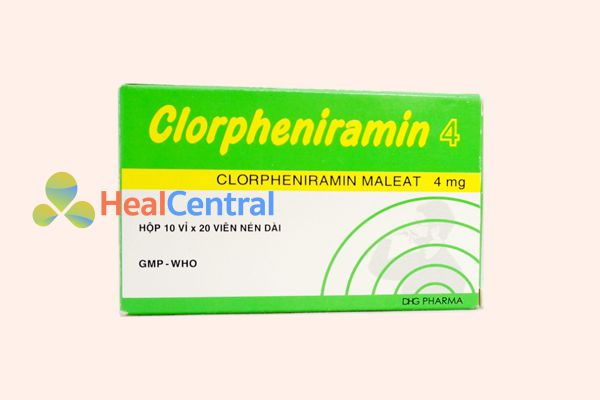Thuốc Clopheniramin 4mg