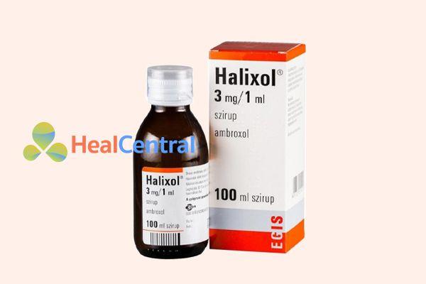 Thuốc ho Halixol