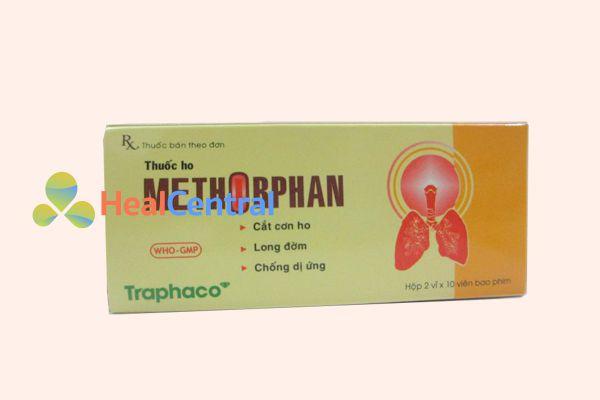 Thuốc ho Methorphan