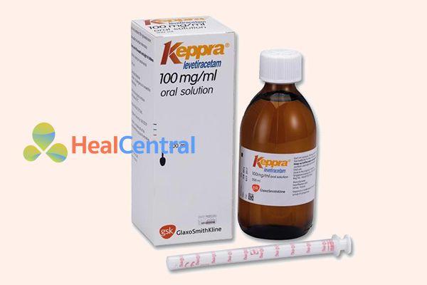 Thuốc Keppra 100mg/ml