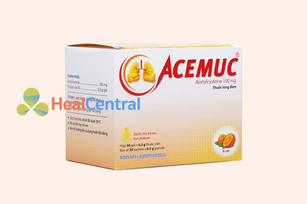 Thuốc long đờm Acemuc là một trong những thuốc long đờm tốt nhất hiện nay