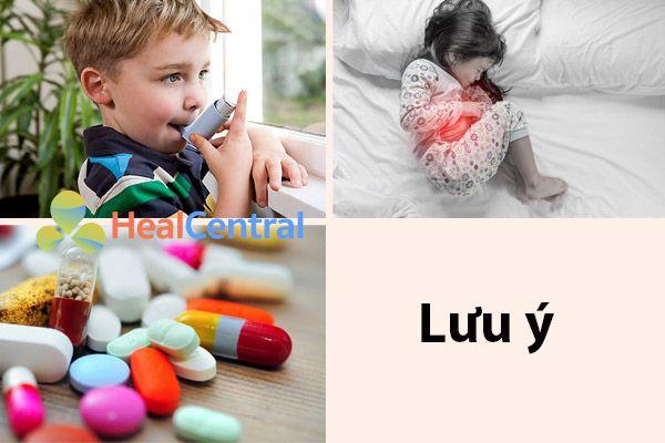 Những tác dụng phụ có thể xảy ra khi sử dụng thuốc long đờm