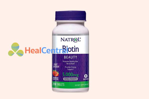 Thuốc mọc râu Biotin - một sản phẩm chất lượng đến từ Mỹ