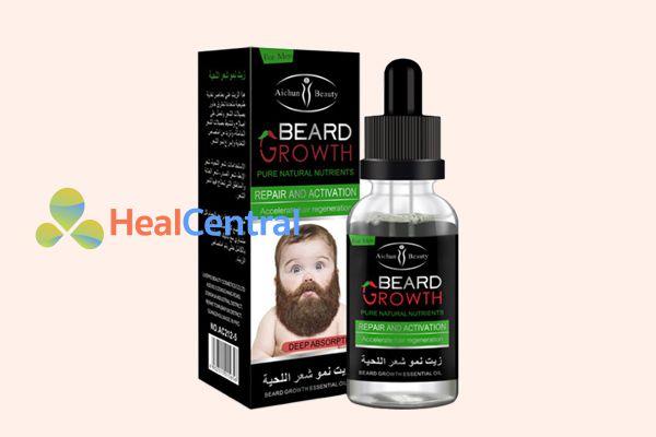 Thuốc mọc râu Beard Growth được bào chế dưới dạng hỗn dịch lỏng bôi lên da