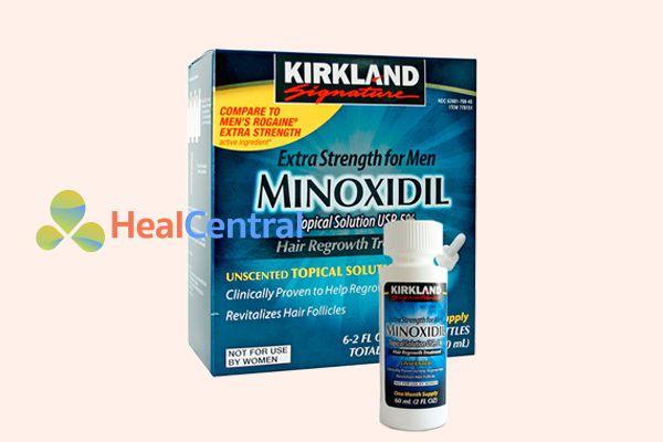 Thuốc mọc râu Minoxidil dạng hút