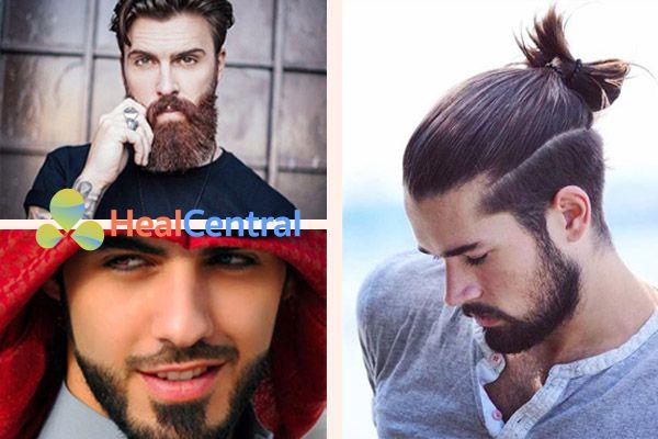 Các thuốc mọc râu giúp tăng các dưỡng chất cũng như tăng lưu lượng máu nuôi râu